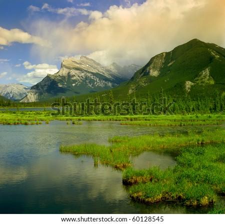 Banff National park, Canada, UNESCO - stock photo