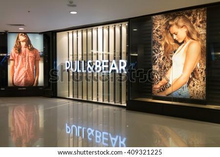 BANGKOK- April 21, 2016:Pull&Bear fashion store ,Bangkok, Thailand - stock photo