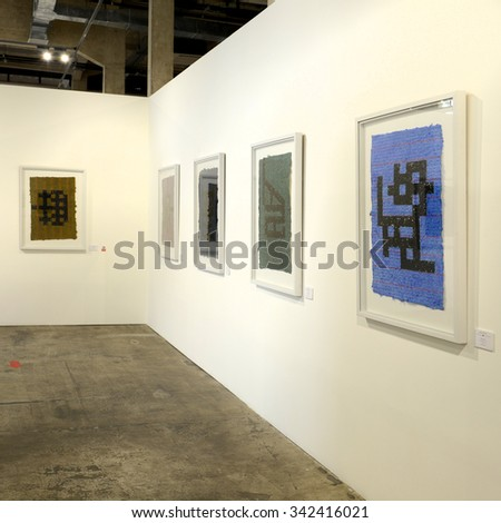 BANGKOK - AUGUST 30: Contemporary Art Exhibition on August 30, 2015 at Ratchadamnoen Contemporary Art Center in Bangkok, Thailand.