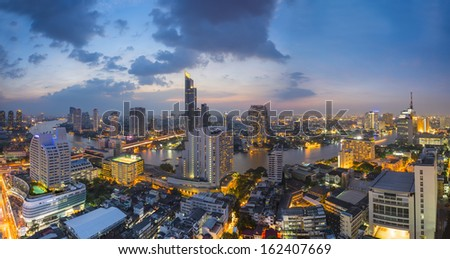 Bangkok City at twilight