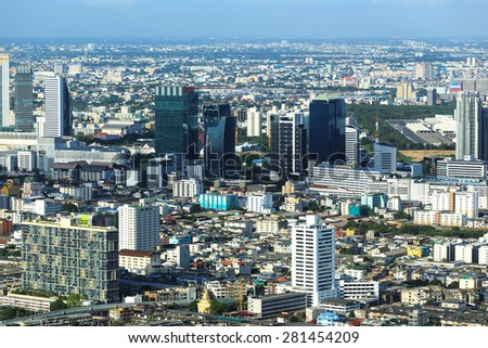 Bangkok city, Thailand. - stock photo