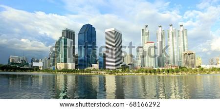 Bangkok city, Thailand - stock photo