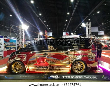 Bangkok July 5 Modified Car Show Stock Photo 681332443 - Shutterstock