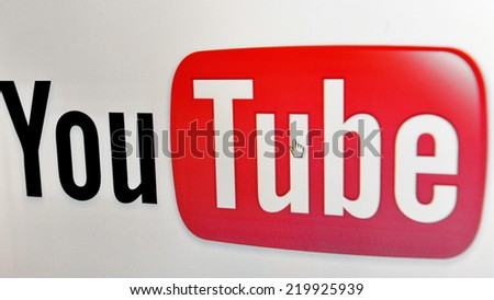 BANGKOK - JULY 17: View of YouTube homepage on July 17, 2013 in Bangkok, Thailand. YouTube is a video-sharing website, founded in 2005 and owned by Google since late 2006. - stock photo