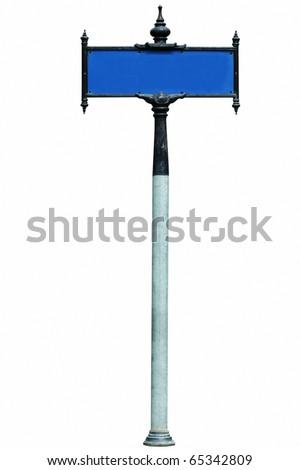 BANGKOK- SEPTEMBER 13: Thai street sign on white background - stock photo