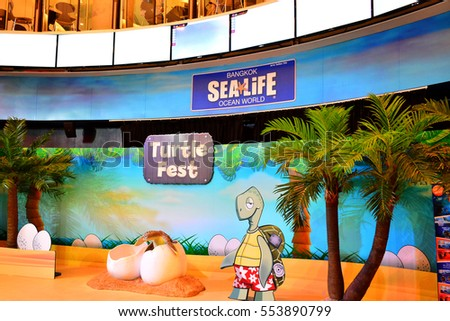 13: Sea Life Bangkok Ocean World Wall Mural On Part 58