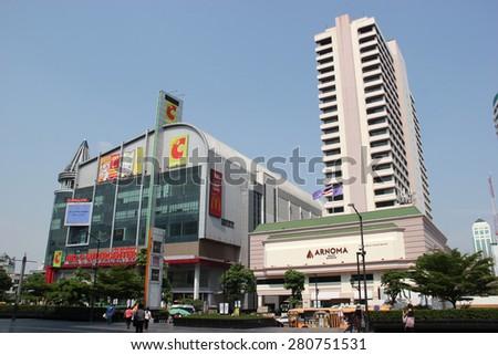 Bangkok, Thailand - April 16, 2015: Big C Supercenter is a grocery and general merchandising retailer headquartered in Bangkok, Thailand. - stock photo
