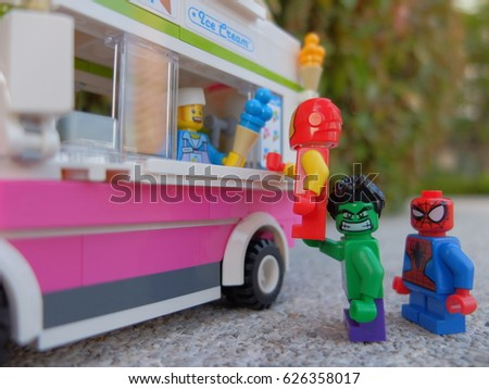 Bangkok Thailand 23 April 2017 Lego Stock Photo 626358017 ...