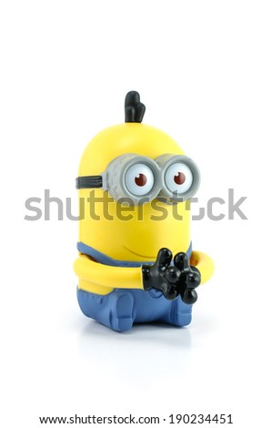 Bangkok,Thailand   April 29, 2014: Minion Kevin From Despicable Me 2 Movie