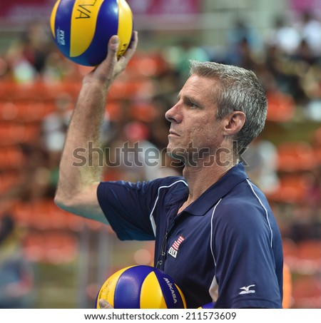bangkok thailand august 17karch kiraly head coach of usa participates in a