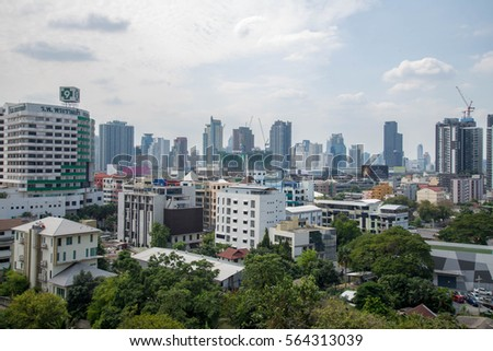 BANGKOK, THAILAND-20 2016 center business, and Paya Governance trade ...