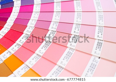 bangkok thailand july 15 2017 color swatches book or pantone color guide - Pantone Color Swatch Book