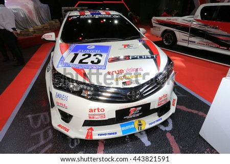 Marvelous BANGKOK, THAILAND   JUNE 22 : Status Of Toyota Sport Car Decoration And  Modify For
