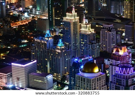BANGKOK,THAILAND - SEPTEMBER 13:Bangkok is the capital and the most populous city of Thailand.