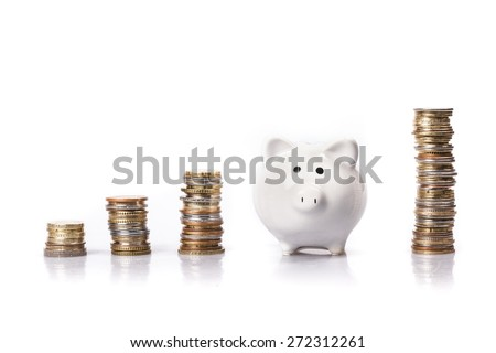 Bank, banking, invest. - stock photo