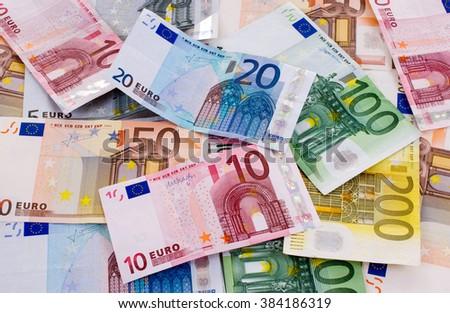 Bank notes - stock photo