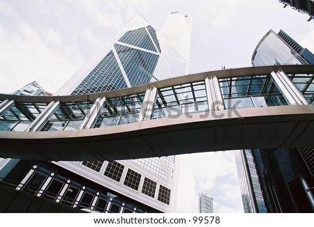 Bank of China, Hong Kong - stock photo