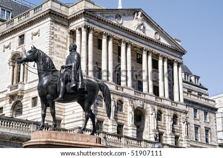 Bank Of England. (City of London) - stock photo
