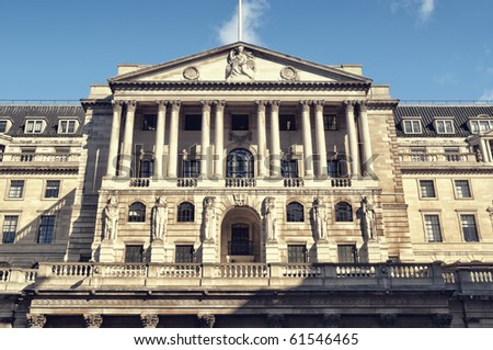 Bank of England, London. - stock photo