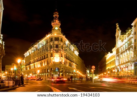 Bank of Spain - stock photo