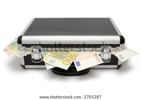 Bank Robbery - stock photo