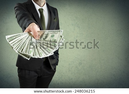 banking loan, or cash concept  - stock photo