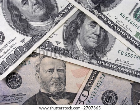 Banknotes - stock photo