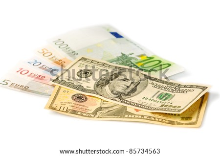 Banknotes - stock photo