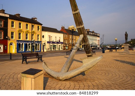 Bantry town in West Cork in Munster province of Republic of Ireland Europe. - stock photo