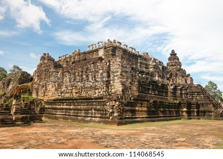 Baphuon,siem reap ,Cambodia, was inscribed on the UNESCO World Heritage List in 1992.