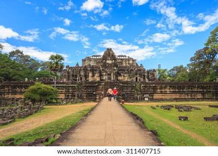 Baphuon temple, Siem Reap, Cambodia - stock photo