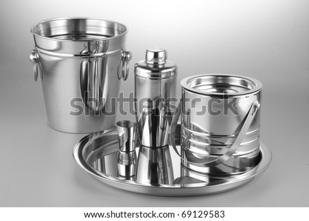 bar accessories - stock photo