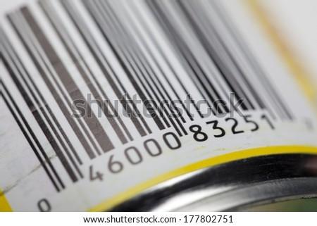 Bar Code - stock photo