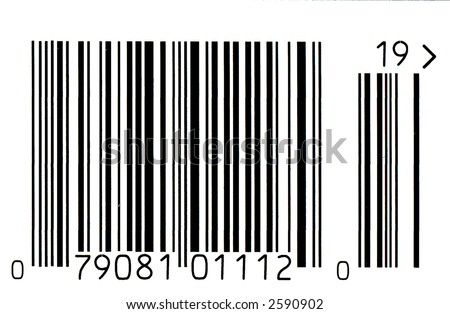 Bar Code - stock photo