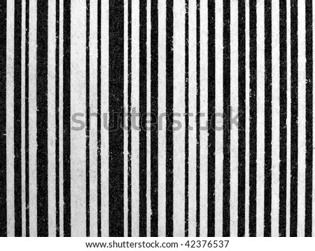 Bar code (barcode) used on product labels