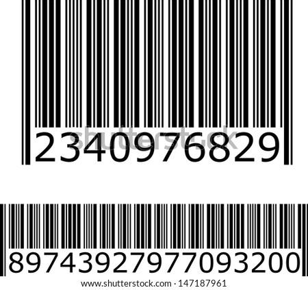 Bar Code. Illustration - stock photo