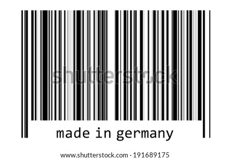Bar code - made in germany