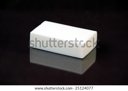Bar of soap - stock photo