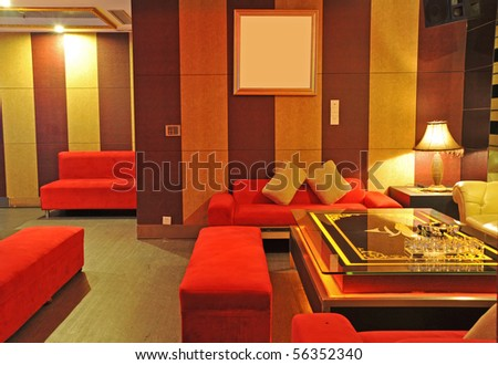 Bar room - stock photo