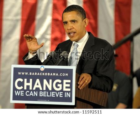Barack Obama - stock photo