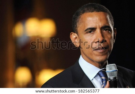 Barack Obama at a public appearance for Barack Obama Campaign Fundraiser, Grand Hyatt Hotel, New York, NY, July 09, 2008