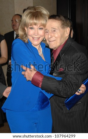 Barbara Eden and Jack LaLanne  at the 35th Annual Vision Awards. Beverly Hilton Hotel, Beverly Hills, CA. 06-12-08