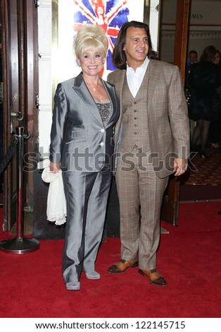Barbara Windsor arriving for VIVA Forever Spice Girls the Musical held at the Piccadilly Theatre. 11/12/2012 Picture by: Henry Harris