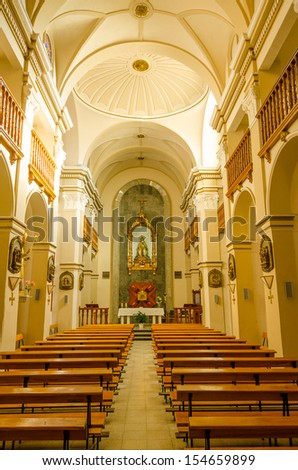 Barbastro, Spain - church of Missionaries (Iglesia de los Misioneros)