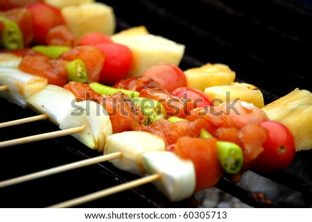 Barbecued Grilled