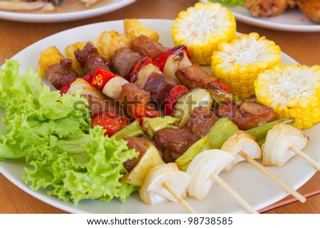 barbeque - stock photo