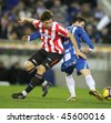 BARCELONA - JAN 30: Fernando Llorente of Athletic Bilbao during the Spanish League match against Espanyol at the Estadi Cornella on January 30, 2010 in Barcelona, Spain - stock photo