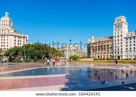 Banesto stock photos royalty free images vectors for Banco santander sucursales barcelona