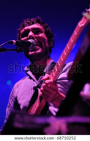 BARCELONA, SPAIN - AUG 20: Mendetz performs at Discotheque Razzmatazz on August 20, 2010 in Barcelona, Spain.