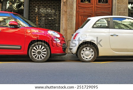 Cars Parked Stock Images Royalty Free Images Amp Vectors